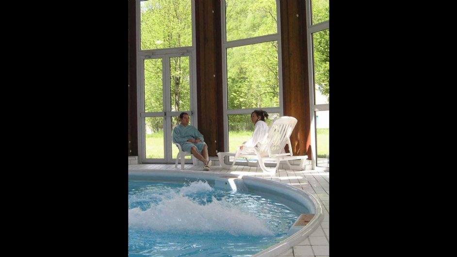 aqua relaxation at the spa of Aulus les Bains...